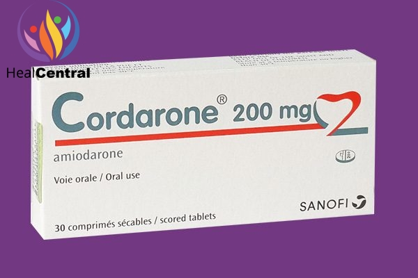 Hộp thuốc Cordarone