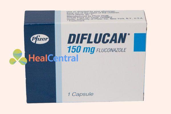 Hộp thuốc Diflucan