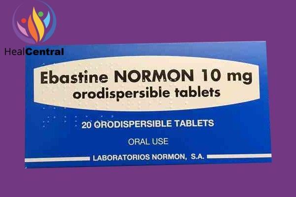 Hộp thuốc Ebastine