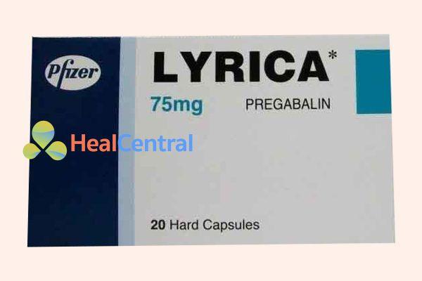 Hộp thuốc Lyrica