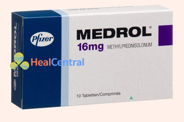 Hộp thuốc Medrol