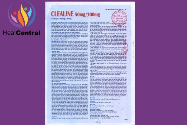 Thuốc Clealine
