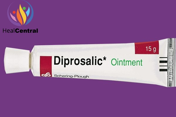 Tuýp thuốc Diprosalic ointment