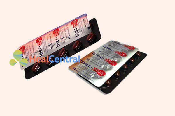 Vỉ thuốc Ipec-Plus tablets