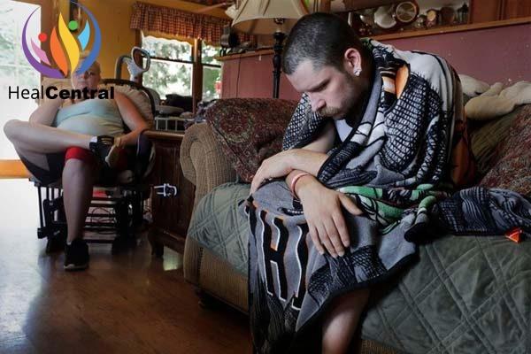 Bệnh nhân bị bệnh phổi khi dùng thuốc lá điện tử