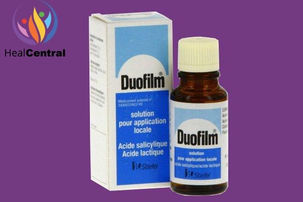 Hộp và lọ thuốc Duofilm
