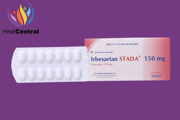 Hộp thuốc Irbesartan