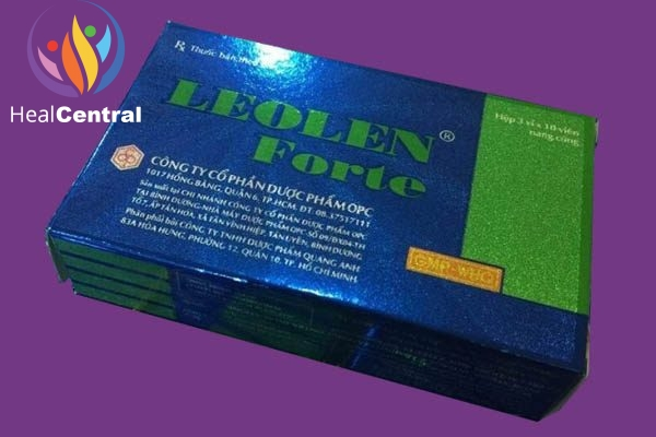 Hộp thuốc Leolen forte