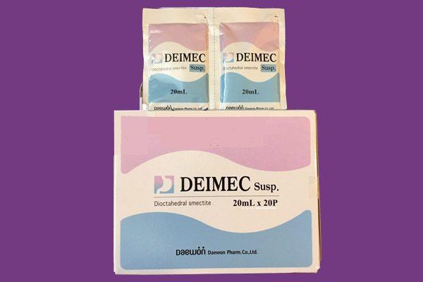 Hộp và gói thuốc Deimec