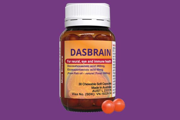 Lọ thuốc Dasbrain