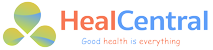 Logo Tạp chí sức khỏe Heal Central (Health Education Assets Library)