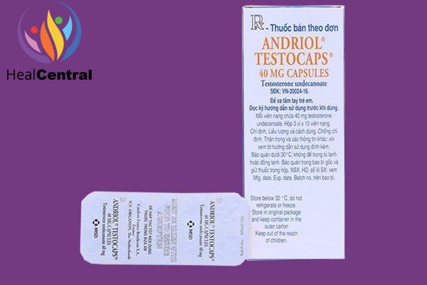Thuốc Andriol testocaps