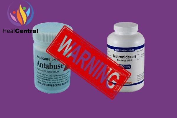 Tương tác thuốc Disulfiram