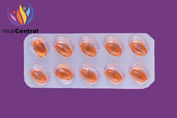 Vỉ thuốc Andriol testocaps