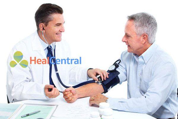 Bệnh nhân bị cao huyết áp