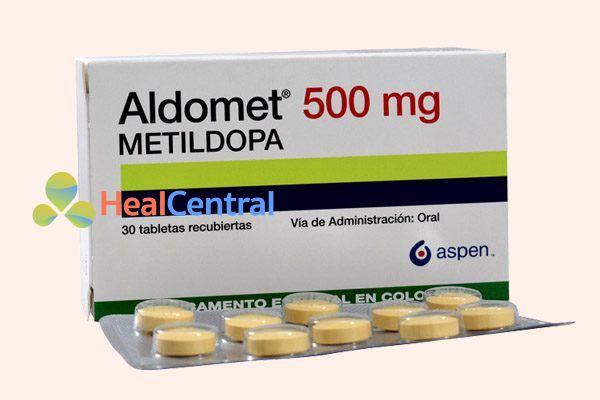 Biệt dược Aldomet (methyldopa)