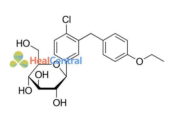 Công thức hóa học Dapagliflozin