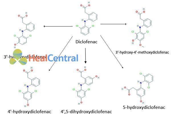 Chuyển hóa Diclofenac