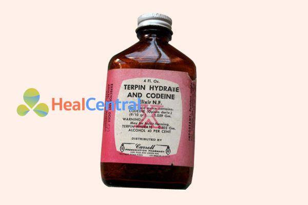 Dạng elixir chứa terpin hydrate và codeine