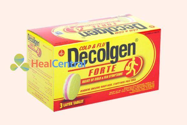 Hộp thuốc Decolgen