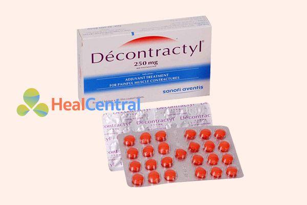 Thuốc Decontractyl