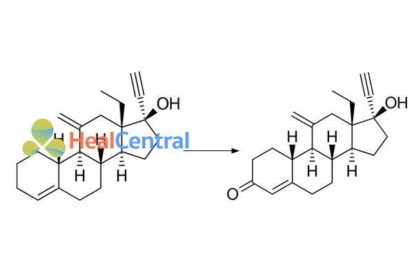 Desogestrel chuyển hóa thành Etonogestrel
