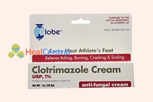 Hộp thuốc Clotrimazole