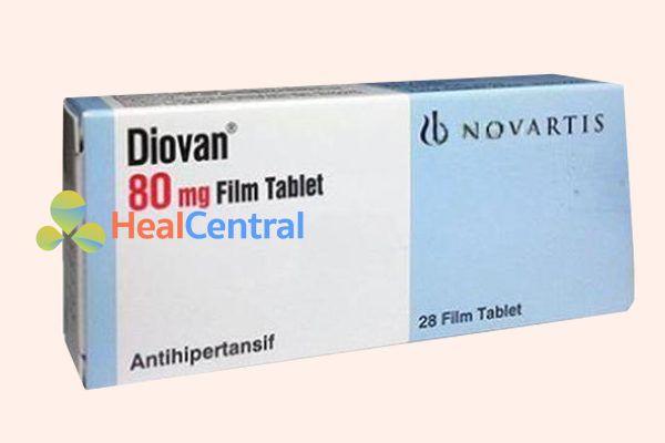 Hộp thuốc Diovan
