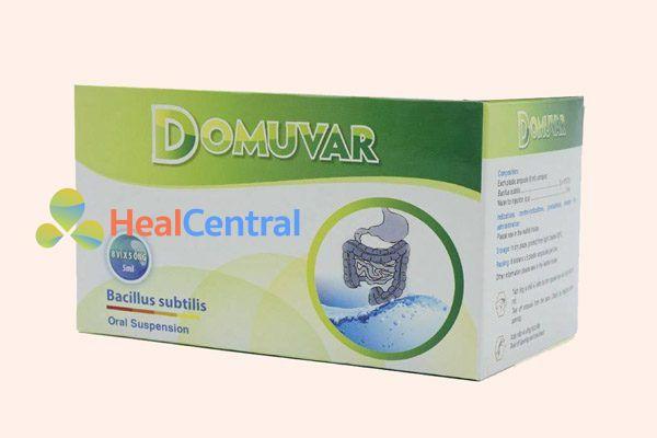 Hộp thuốc Domuvar