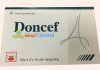 Hộp thuốc Doncef