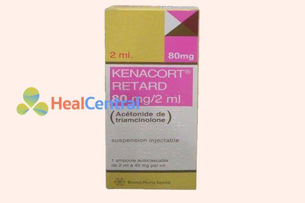 Hộp thuốc Kenacort