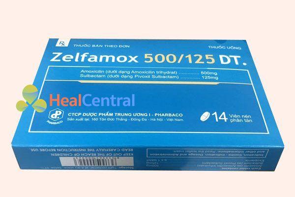 Hộp thuốc Zelfamox