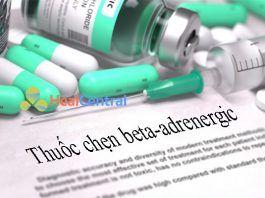 Thuốc chẹn beta-adrenergic