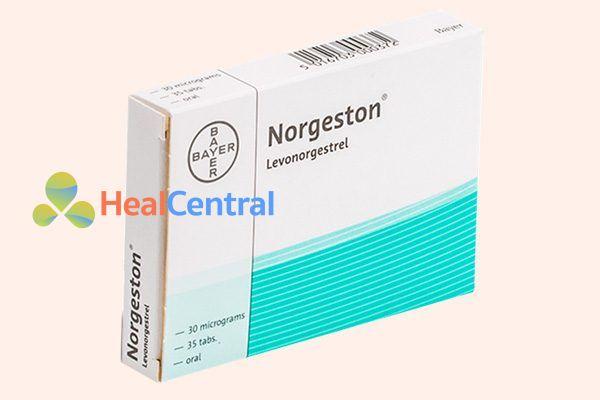 Một biệt dược thuốc tránh thai 1 thành phần chứa levonorgestrel