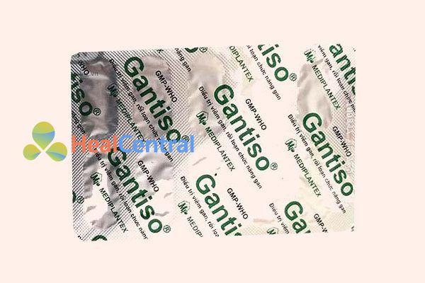 Vỉ thuốc Gantiso