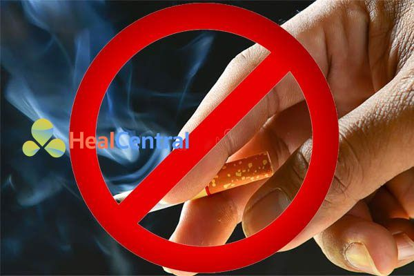 Cấm hút thuốc lá