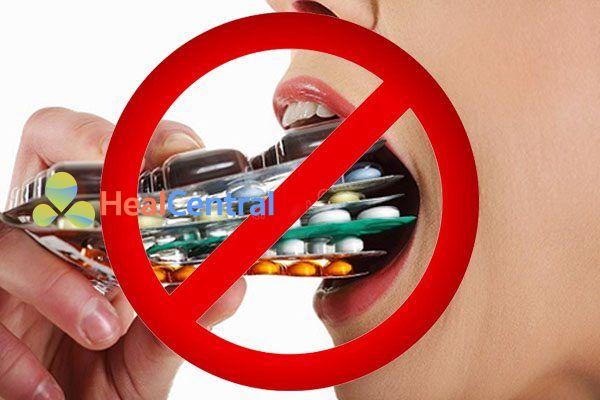 Không lạm dụng thuốc