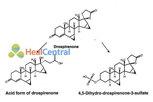 Chuyển hóa Drospirenone
