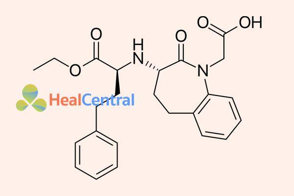 Công thức hóa học Benazepril