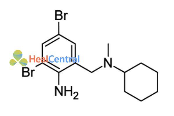 Công thức hóa học của Bromhexine