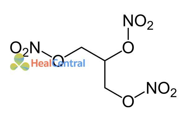 Công thức hóa học Nitroglycerine