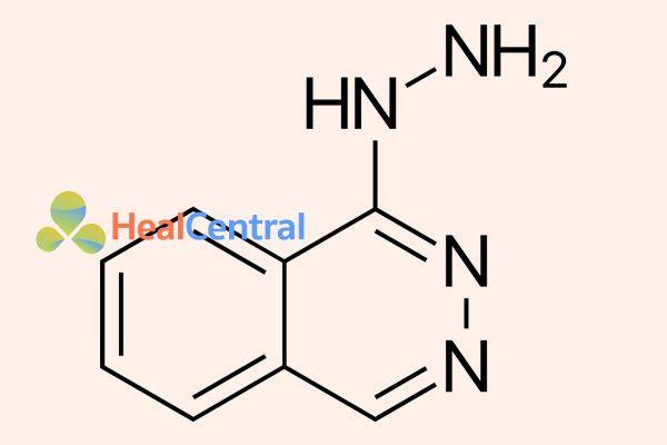 Công thức hóa học hydralazine