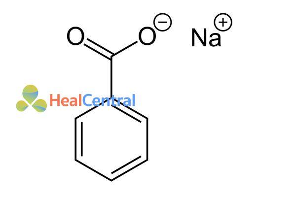Công thức hóa học Natri benzoat