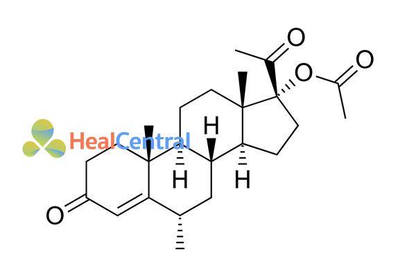 Cấu trúc hóa học của Progestin