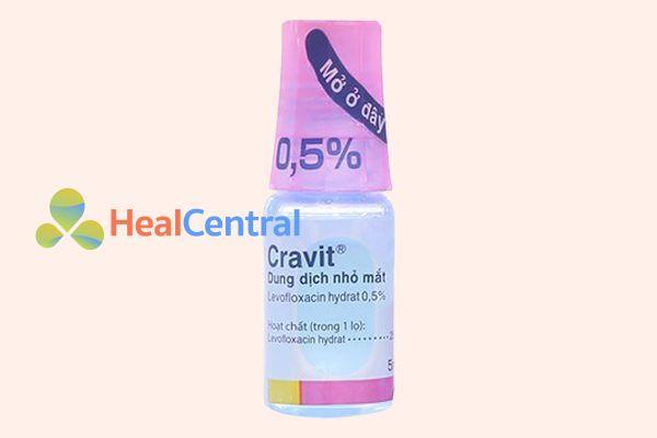 Lọ thuốc Cravit
