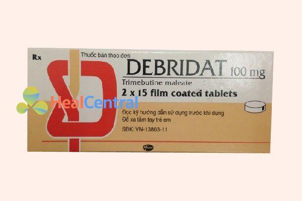 Hộp thuốc Debridat
