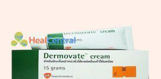 Hộp và tuýp thuốc Dermovate