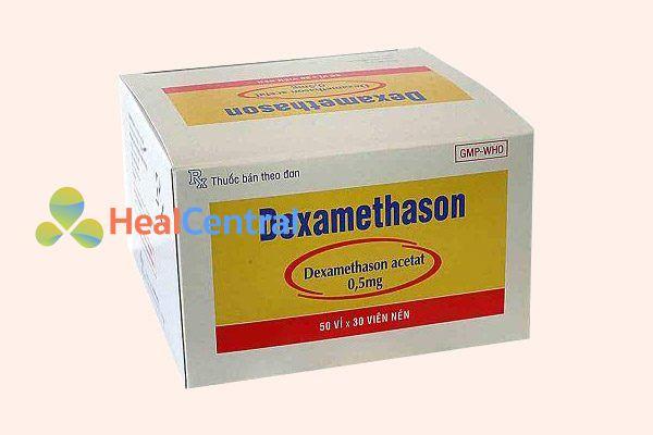 Hộp thuốc Dexamethason