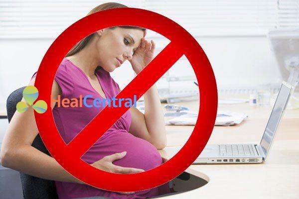 Không sử dụng thuốc quinapril với phụ nữ có thai
