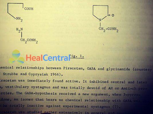Tài liệu nghiên cứu piracetam